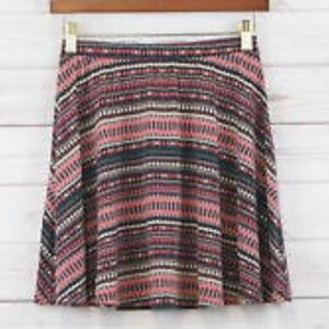 Mossimo Aztec printed mini skirt